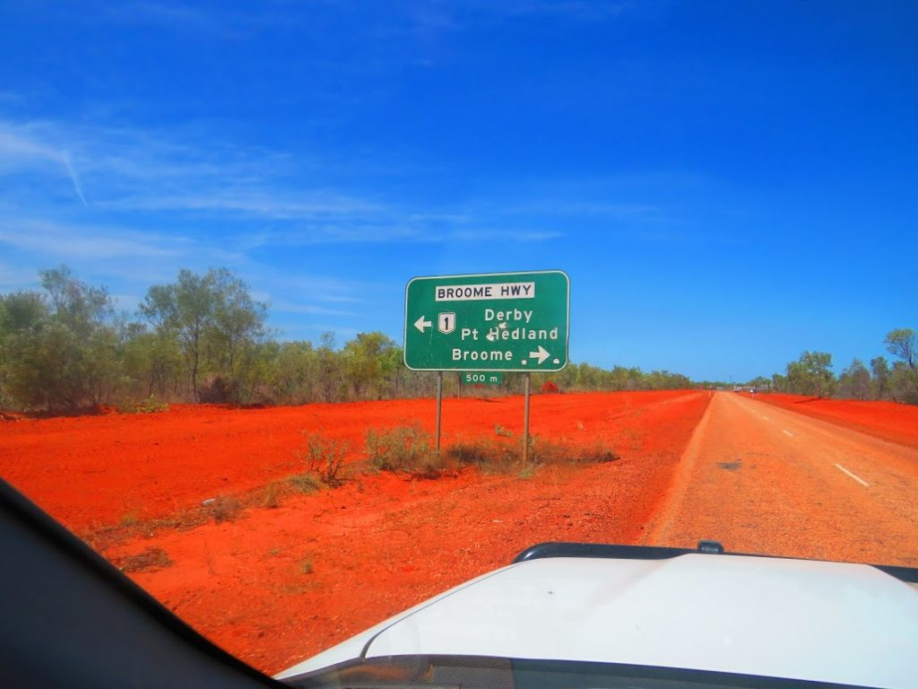 4WD in broome campabout oz