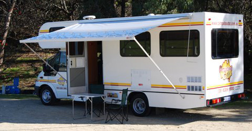 6 Berth Motorhome Rental Perth Australia