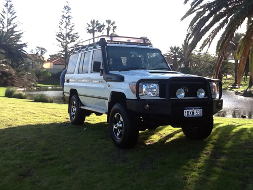4WD Toyota Landcruiser Hire