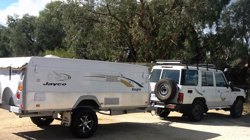 Camper Trailer Plus 4WD
