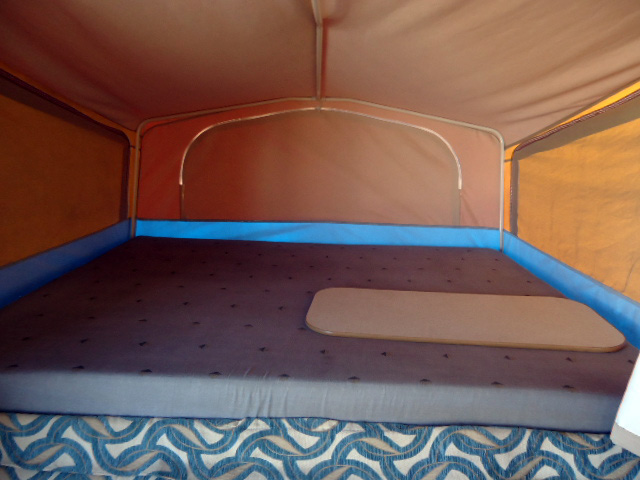 Eagle Camper Trailer Bed