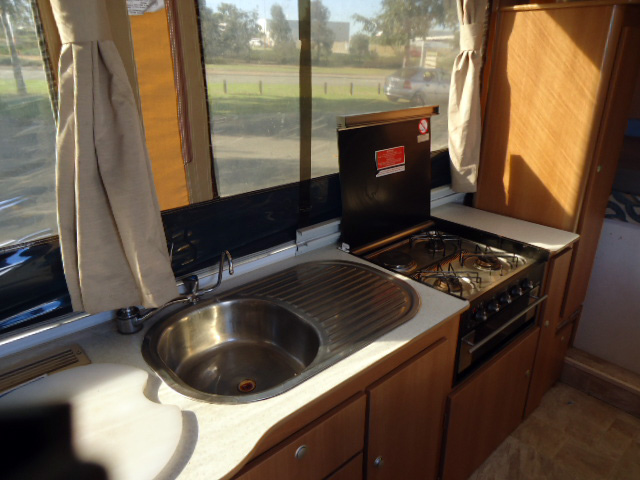 Eagle Camper Trailer Kitchen