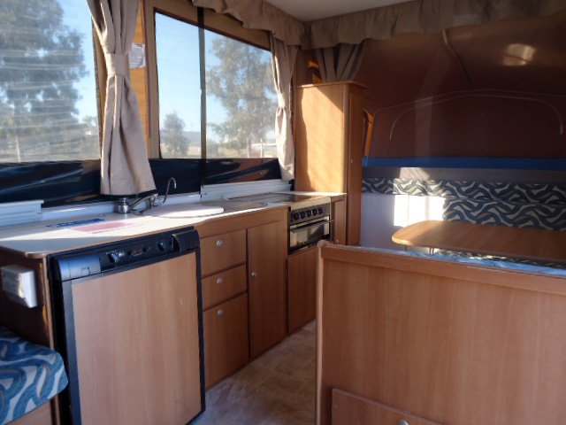 Eagle Camper Trailer Layout