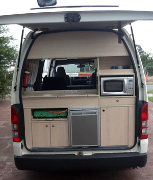 Family Explorer Campervan Kitchen