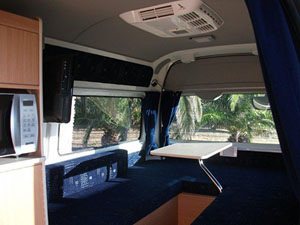 Platinum Luxury HiAce Cabin