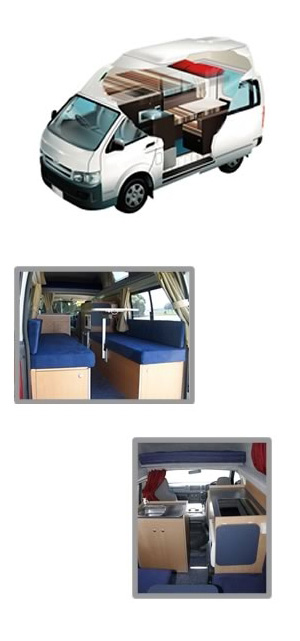 Hitop Freedom Camper Layout
