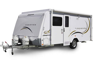 Jayco Expanda Caravan Outside View
