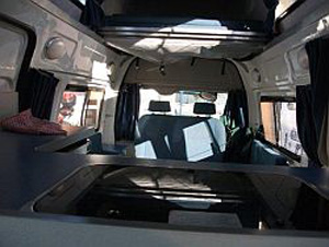 Long Wheel Base HiTop Camper Interior