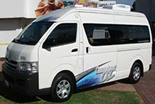 Luxury HiAce Platinum Rental
